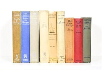 Lot 79 - Kahane (Jack) Memoirs of a Booklegger, Michael Joseph, 1939, first edition, dust wrapper; idem, The