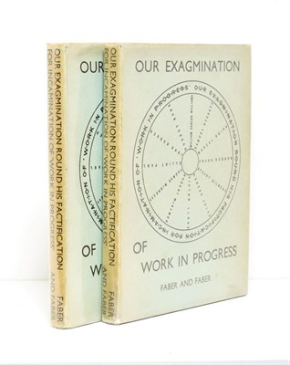 Lot 83 - Joyce (James) et al Our Exagmination Round His Factification for Incamination of Work in...