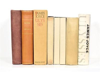 Lot 85 - Joyce (James) Ulysses, Paris: Shakespeare and Co., 1927, ninth printing, quarter cloth idem,...