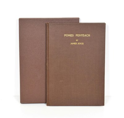 Lot 87 - Joyce (James) Pomes Penyeach, Cleveland [Ohio]: privately printed, 1931, numbered limited...