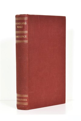 Lot 90 - Joyce (James) Finnegans Wake, Faber and Faber, 1939, first English edition (trade), original...