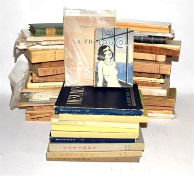 Lot 96 - Monnier (Adrienne) La Figure, Paris: printed at the author's expense for sale at La Maison des Amis