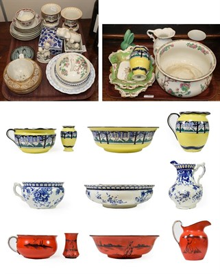 Lot 88 - ~ A Chinese Porcelain Tea Bowl and Two Saucers, Qianlong, painted in famille rose enamels with...