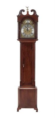 Lot 421 - A Scottish Mahogany Eight Day Longcase Clock, signed Robt Clydsdale, Edinburgh, circa 1780,...