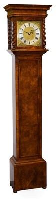 Lot 424 - A Walnut Thirty Hour Longcase Clock, signed Joshua Hutchins, London, late 17th century and...