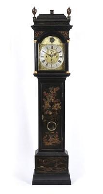 Lot 426 - A Rare Chinoiserie Quarter Chiming Longcase Clock, signed Jos Green, North Shields, circa 1730,...