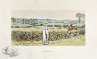 Lot 1007 - Charles Johnson Payne ''Snaffles'' (1884-1967)  ''The Finest View in Europe''  Signed in...