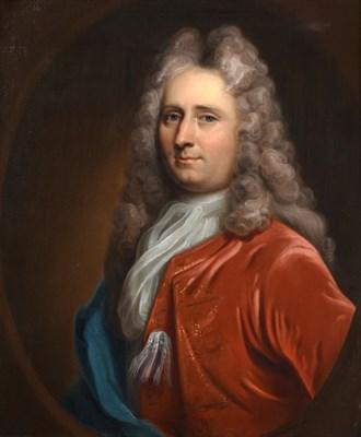 Lot 1087 - Follower of Jean Baptise van Loo (1684-1745) French  Portrait of John Bailvard of Bradford on Avon