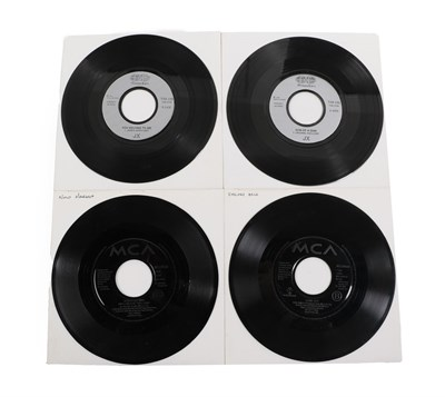 Lot 25 - An Extensive Collection of 45rpm 7inch Records, mainly in plain sleeves, with central cut-out...