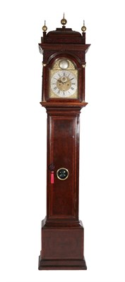 Lot 79 - A Burr Walnut Eight Day Longcase Clock, signed George Tyler, London, circa 1720, case with...