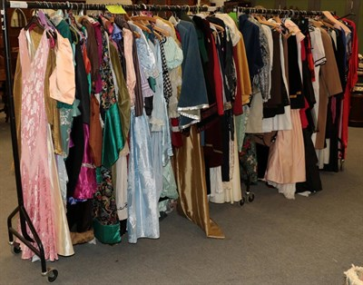 Lot 61 - Quantity of assorted mainly ladies costume, to include theatrical costume of Tudor, Victorian,...