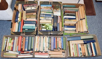 Lot 68 - Six boxes of miscellaneous plays and poetry, mostly 20th century, some first editions (qty)