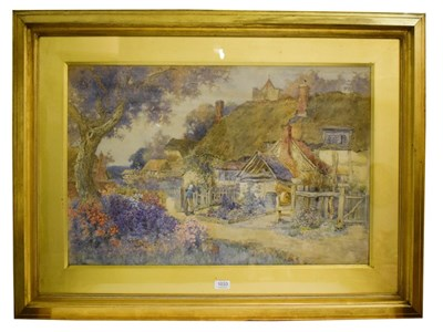 Lot 1033 - Richard Wane (1852-1904) 'Our Village' Signed, with original artists inscribed label verso,...