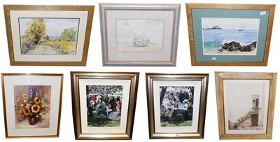 Lot 1065 - After Sherree Valentine Daines (Contemporary) Shared Memories I and II,signed limited edition...