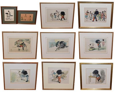 Lot 1082 - After Florence Upton, a quantity of nursery prints (one box)