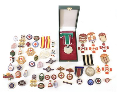 Lot 28 - A Small Quantity of Civil and Medical Related Medals, comprising a Voluntary Medical Services Medal