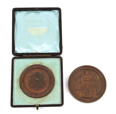 Lot 29 - A Bronze Medal Commemorating the Foundation of the City of London School, 1834, designed by...