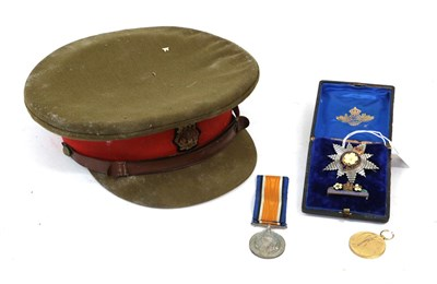 Lot 32 - A First World War Pair, awarded to CAPTAIN J.S. EDWARDS-HEATHCOTE, in box of issue; a Primrose...