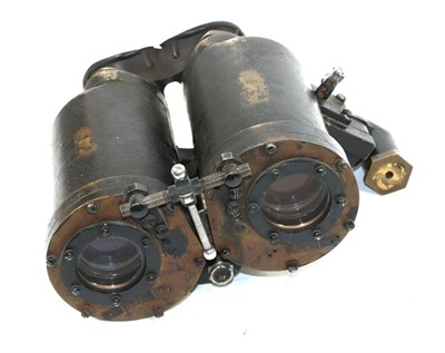 Lot 50 - A Rare Pair of Second World War US Submarine Mk.91 ''Torpedo Forward Control Binoculars'' by Bausch