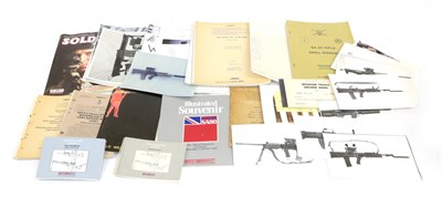 Lot 56 - A Quantity of Documents and Instruction Books, relating to the introduction of the 4.85mm...