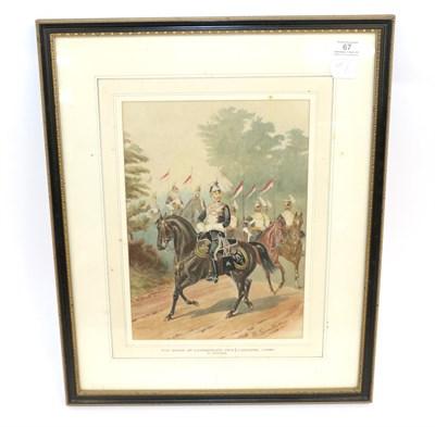 Lot 67 - Richard Simkin (British 1840-1926) - 17th (Duke of Cambridge's Own) Lancers, Circa 1880,...
