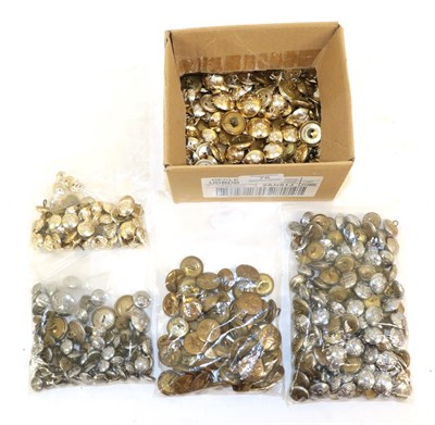 Lot 78 - A Collection of Forty Seven Brass RAF Buttons, comprising eleven GVI and thirty six EII, with...