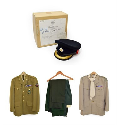 Lot 86 - A No.2 Winter Service Dress Uniform to a Lieutenant Colonel of the Royal Dragoon Guards, of a tunic