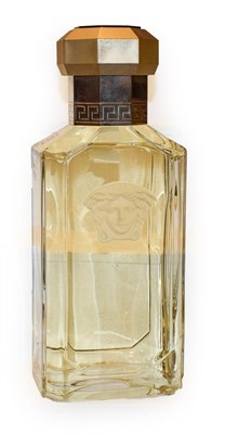 Lot 33 - 'Dreamer' by Versace large advertising display dummy factice, the glass bottle with faceted...