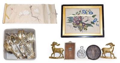 Lot 39 - A large silver plated service of cutlery by Elkington & Co in double struck kings pattern etc,...