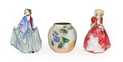 Lot 72 - Two Royal Doulton ladies, Sweet Anne HN1318 and Top 'O' The Hill HN1834 together with a Royal...