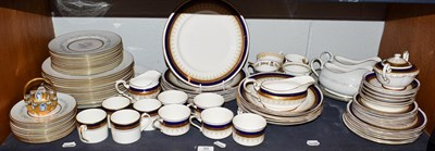 Lot 89 - Ceramics including a Paragon Sterling pattern part service, a further part dinner service and...