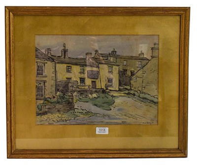 Lot 1018 - Marie Hartley (1905-2006) The Farmer's Arms Hotel, Muker, Upper Swaledale, signed, watercolour,...
