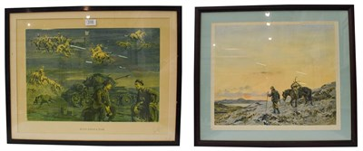 Lot 1038 - Snaffles, Charles Johnson Payne (1884-1967) One Upon a Time,  signed artist proof, 42cm by...