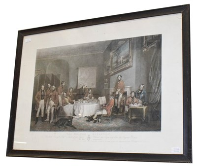 Lot 1048A - After Francis Grant, the Melton Breakfast, print, 55cm by 80cm