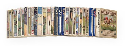 Lot 3001 - C B Frys Magazines early 20th Century (in one box)