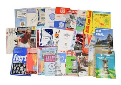Lot 3006 - European Football And Other Programmes including Tottenham v OFK Belgrade 1963, Liverpool v FC Koln
