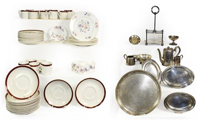Lot 3033 - Furness Lines Group Ceramics: twenty two saucers, sixteen coffee cups, five side plates and...