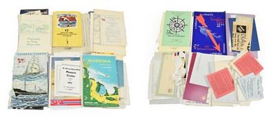 Lot 3041 - Norwegian Shipping Related Paperwork including Midnight Sun Pleasure Cruises 1926, B&N Line...