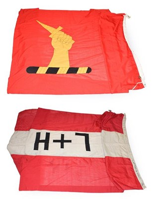 Lot 3052 - Shipping Line Flags (i) Bibby Line (ii) Lamport & Holt (2)