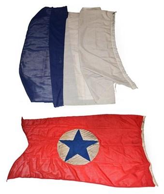 Lot 3053 - Shipping Line Flags (i) Brocklebank (ii) Blue Star (2)