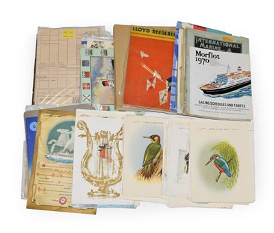 Lot 3066 - Shipping Related Paperwork examples from Cunard, Royal Mail, Furness and others including...