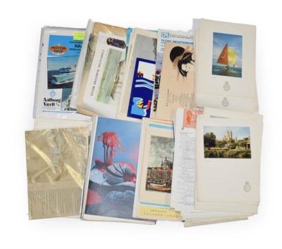 Lot 3067 - Shipping Related Paperwork examples from NYK Line, Holland America Line, Pacific Steam...