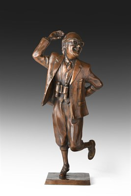 Lot 1064 - Graham Ibbeson MA (b.1951) Eric Morecambe Maquette Signed and inscribed A/P, bronze, 38.5cm...