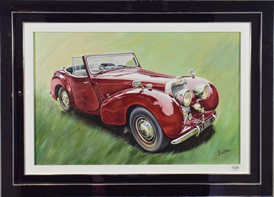 Lot 1009 - Roz Wilson (b.1960) ''Bergerac Triumph'' Signed, oil on canvas, 45cm by 69.5cm  Artist's Resale...