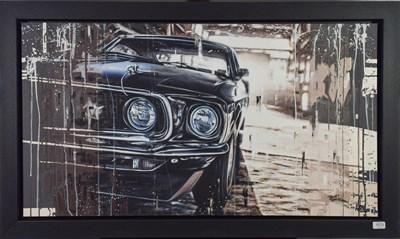 Lot 1013 - Kris Hardy (b.1978) ''Eleanor III'' Signed, oil on canvas, 61cm by 112cm  Artist's Resale...