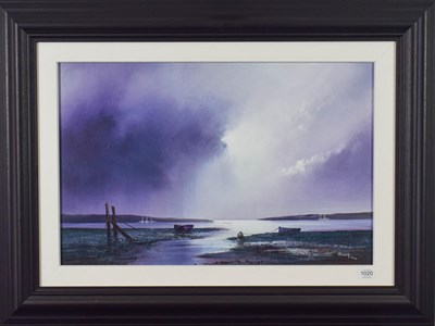 Lot 1020 - Barry Hilton (Contemporary) ''Violet Dawn'' Signed and numbered 66/105 giclee print on board,...