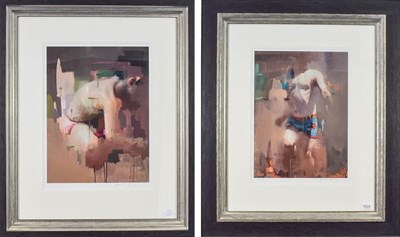 Lot 1029 - Christian Hook (Contemporary) ''Notion A'' and ''Notion B'' Each signed and numbered (Notion A...