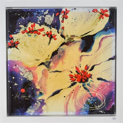 Lot 1032 - Danielle O'Connor Akiyama (Contemporary) Canadian ''Fire and Ice III'' Signed and numbered...