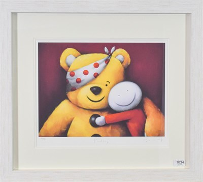 Lot 1034 - Doug Hyde (Contemporary) ''Pudsey'' Signed, inscribed and numbered 771/995, lithograph, 34cm by...
