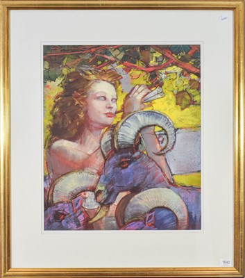 Lot 1042 - Bohuslav Barlow RA (b.1947) ''Reveille'' Signed and dated (19)99, oil on board, 68.5cm by 50cm...